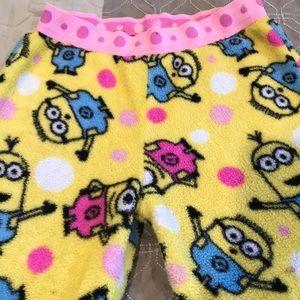 Girls pajama fleece pants